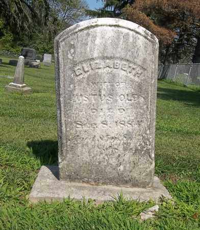 OLDS, ELIZABETH - Trumbull County, Ohio | ELIZABETH OLDS - Ohio Gravestone Photos