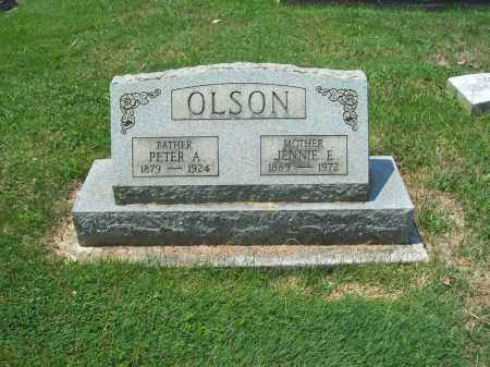 OLSON, PETER ALFRED - Trumbull County, Ohio | PETER ALFRED OLSON - Ohio Gravestone Photos