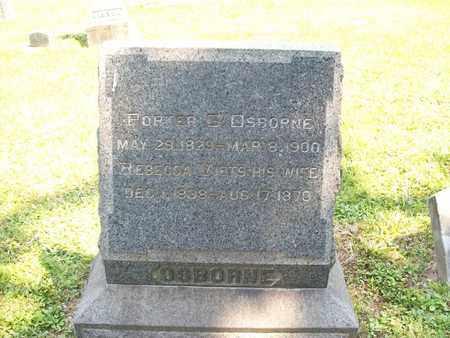 OSBORNE, PORTER G. - Trumbull County, Ohio | PORTER G. OSBORNE - Ohio Gravestone Photos