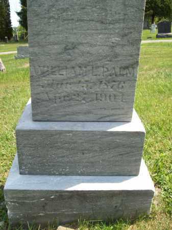 PALM, WILLIAM L. - Trumbull County, Ohio | WILLIAM L. PALM - Ohio Gravestone Photos
