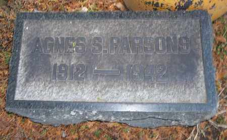 SMITH PARSONS, AGNES - Trumbull County, Ohio | AGNES SMITH PARSONS - Ohio Gravestone Photos