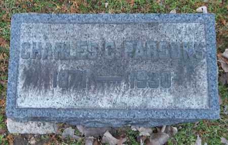 PARSONS, CHARLES C. - Trumbull County, Ohio | CHARLES C. PARSONS - Ohio Gravestone Photos