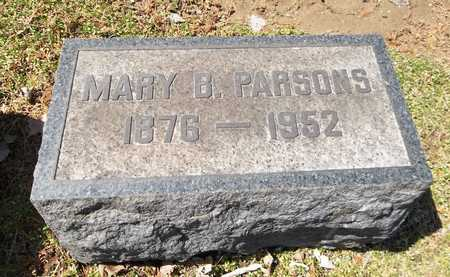 PARSONS, MARY BELLE - Trumbull County, Ohio | MARY BELLE PARSONS - Ohio Gravestone Photos