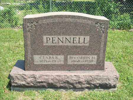PENNELL, ORRIN H., REV. - Trumbull County, Ohio | ORRIN H., REV. PENNELL - Ohio Gravestone Photos
