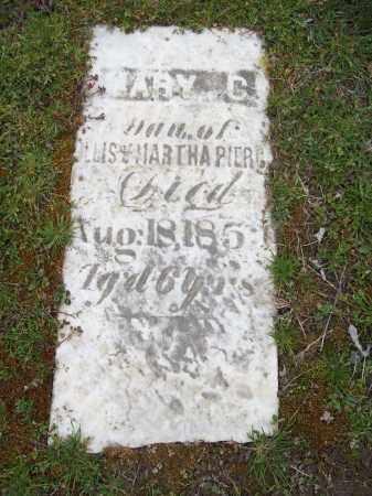 PIERCE, MARY C. - Trumbull County, Ohio | MARY C. PIERCE - Ohio Gravestone Photos