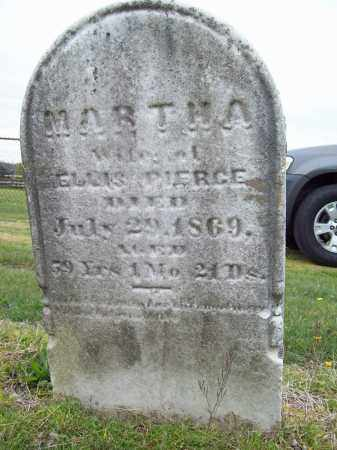 PIERCE, MARTHA - Trumbull County, Ohio | MARTHA PIERCE - Ohio Gravestone Photos