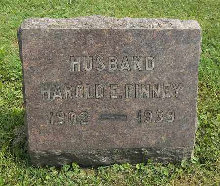 PINNEY, HAROLD E. - Trumbull County, Ohio | HAROLD E. PINNEY - Ohio Gravestone Photos