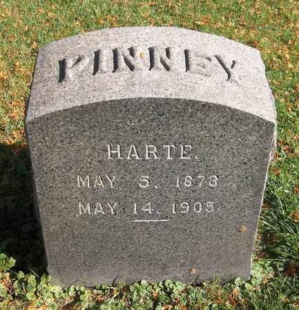 PINNEY, HARTE - Trumbull County, Ohio | HARTE PINNEY - Ohio Gravestone Photos