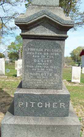 PITCHER, DESIRE P. - Trumbull County, Ohio | DESIRE P. PITCHER - Ohio Gravestone Photos