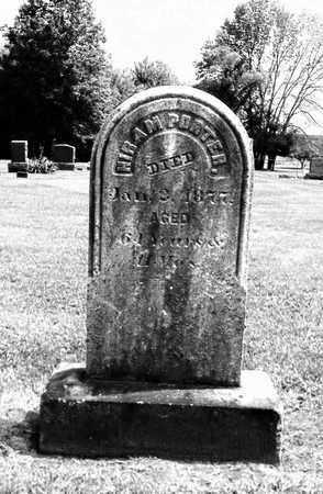 PORTER, HIRAM - Trumbull County, Ohio | HIRAM PORTER - Ohio Gravestone Photos