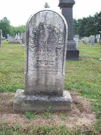 WILSON PORTER, LYDIA - Trumbull County, Ohio | LYDIA WILSON PORTER - Ohio Gravestone Photos