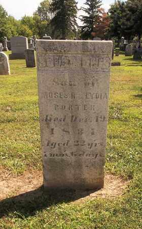 PORTER, SOLOMON - Trumbull County, Ohio | SOLOMON PORTER - Ohio Gravestone Photos