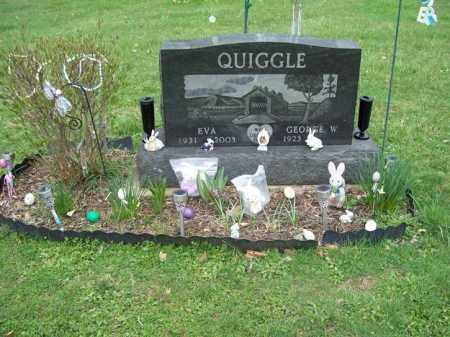 QUIGGLE, EVA - Trumbull County, Ohio | EVA QUIGGLE - Ohio Gravestone Photos