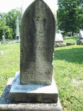RACAN, ELIZA A. - Trumbull County, Ohio | ELIZA A. RACAN - Ohio Gravestone Photos