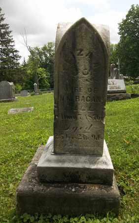 RACAN, ELIZA - Trumbull County, Ohio | ELIZA RACAN - Ohio Gravestone Photos