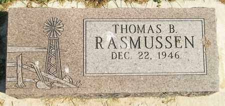 RASMUSSEN, THOMAS B. - Trumbull County, Ohio | THOMAS B. RASMUSSEN - Ohio Gravestone Photos