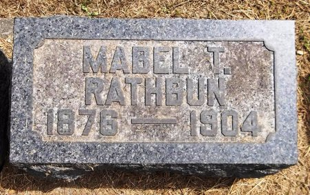 RATHBUN, MABEL - Trumbull County, Ohio | MABEL RATHBUN - Ohio Gravestone Photos
