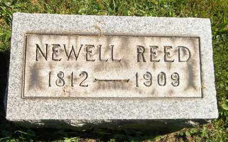 REED, NEWELL - Trumbull County, Ohio | NEWELL REED - Ohio Gravestone Photos