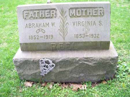 REEL, ABRAHAM W. - Trumbull County, Ohio | ABRAHAM W. REEL - Ohio Gravestone Photos