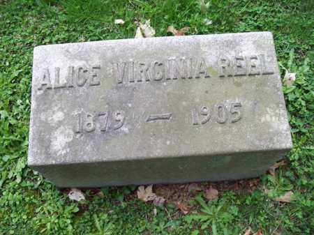 REEL, ALICE VIRGINIA - Trumbull County, Ohio | ALICE VIRGINIA REEL - Ohio Gravestone Photos