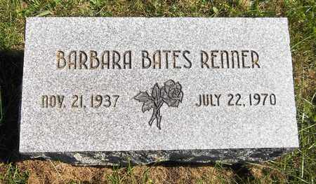 BATES RENNER, BARBARA - Trumbull County, Ohio | BARBARA BATES RENNER - Ohio Gravestone Photos