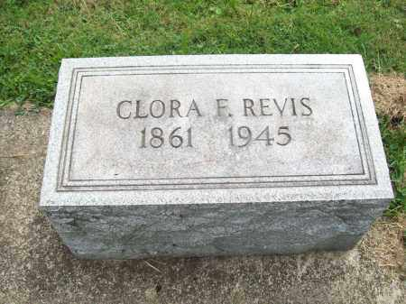 REVIS, CLORA FRANCES - Trumbull County, Ohio | CLORA FRANCES REVIS - Ohio Gravestone Photos