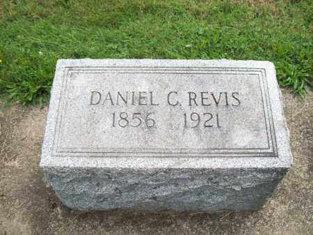 REVIS, DANIEL C. - Trumbull County, Ohio | DANIEL C. REVIS - Ohio Gravestone Photos