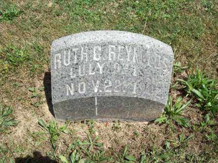 REYNOLDS, RUTH G. - Trumbull County, Ohio | RUTH G. REYNOLDS - Ohio Gravestone Photos