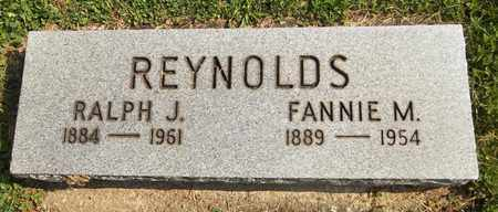 REYNOLDS, RALPH J. - Trumbull County, Ohio | RALPH J. REYNOLDS - Ohio Gravestone Photos