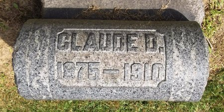 RHODES, CLAUDE D. - Trumbull County, Ohio | CLAUDE D. RHODES - Ohio Gravestone Photos