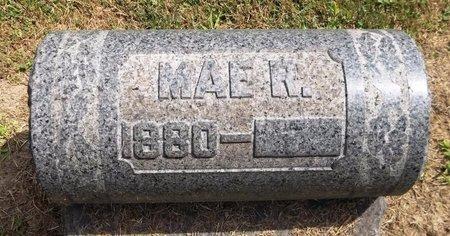 RHODES, MAE R. - Trumbull County, Ohio | MAE R. RHODES - Ohio Gravestone Photos