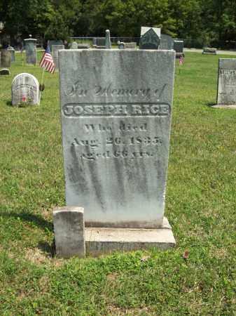 RICE, JOSEPH - Trumbull County, Ohio | JOSEPH RICE - Ohio Gravestone Photos
