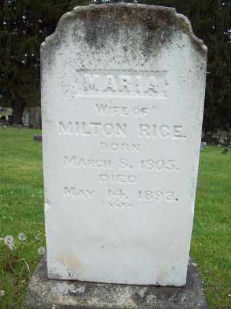 RICE, MARIA - Trumbull County, Ohio | MARIA RICE - Ohio Gravestone Photos