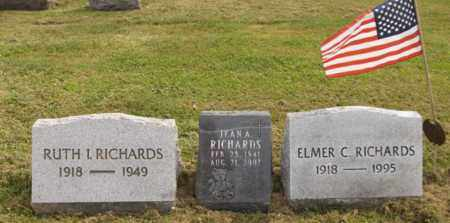 RICHARDS, JEAN A. - Trumbull County, Ohio | JEAN A. RICHARDS - Ohio Gravestone Photos