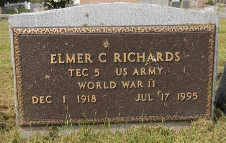 RICHARDS, ELMER C. - Trumbull County, Ohio | ELMER C. RICHARDS - Ohio Gravestone Photos