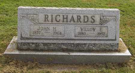RICHARDS, JOHN H. - Trumbull County, Ohio | JOHN H. RICHARDS - Ohio Gravestone Photos