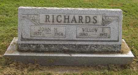 RICHARDS, WILLOW E. - Trumbull County, Ohio | WILLOW E. RICHARDS - Ohio Gravestone Photos