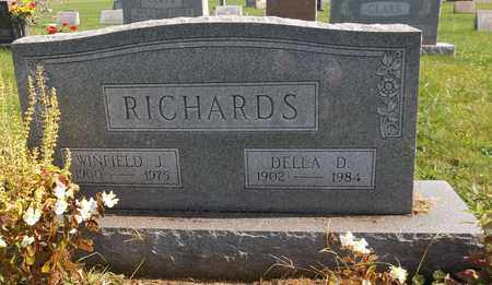 RICHARDS, DELLA D. - Trumbull County, Ohio | DELLA D. RICHARDS - Ohio Gravestone Photos