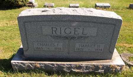 RIGEL, CHARLES F. - Trumbull County, Ohio | CHARLES F. RIGEL - Ohio Gravestone Photos