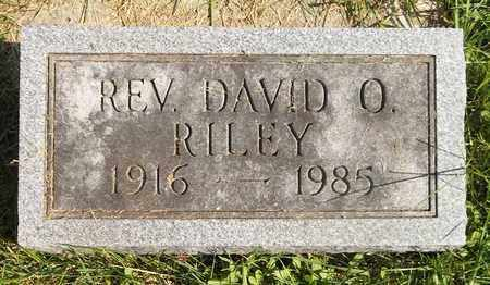 RILEY, DAVID O. - Trumbull County, Ohio | DAVID O. RILEY - Ohio Gravestone Photos