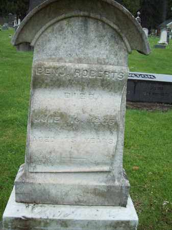 ROBERTS, BENJAMIN - Trumbull County, Ohio | BENJAMIN ROBERTS - Ohio Gravestone Photos