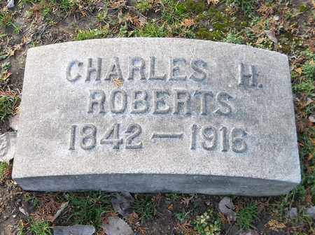ROBERTS, CHARLES H. - Trumbull County, Ohio | CHARLES H. ROBERTS - Ohio Gravestone Photos