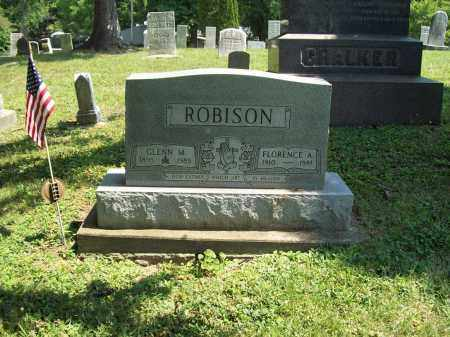 ROBISON, FLORENCE A. - Trumbull County, Ohio | FLORENCE A. ROBISON - Ohio Gravestone Photos