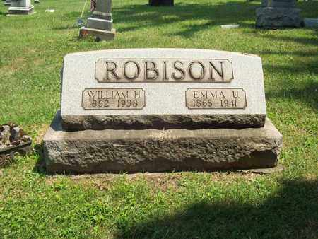 ROBISON, WILLIAM HAZZARD - Trumbull County, Ohio | WILLIAM HAZZARD ROBISON - Ohio Gravestone Photos