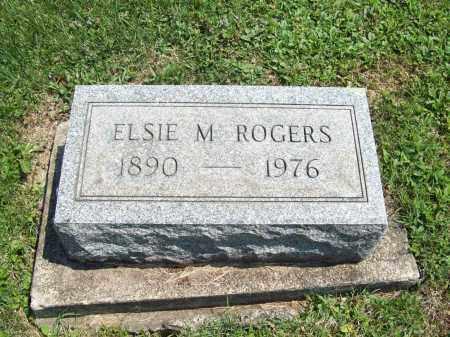 ROGERS, ELSIE M. - Trumbull County, Ohio | ELSIE M. ROGERS - Ohio Gravestone Photos