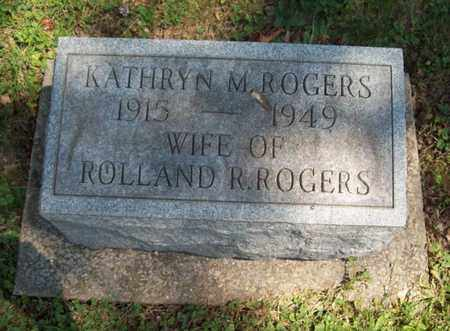 ROGERS, KATHRYN M. - Trumbull County, Ohio | KATHRYN M. ROGERS - Ohio Gravestone Photos