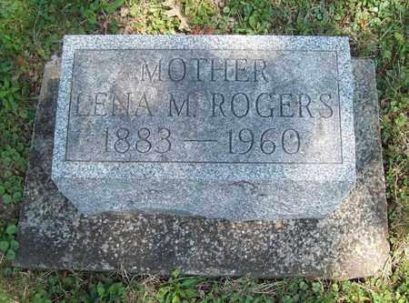 ROGERS, LENA M. - Trumbull County, Ohio | LENA M. ROGERS - Ohio Gravestone Photos