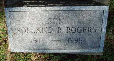 ROGERS, ROLLAND R. - Trumbull County, Ohio | ROLLAND R. ROGERS - Ohio Gravestone Photos