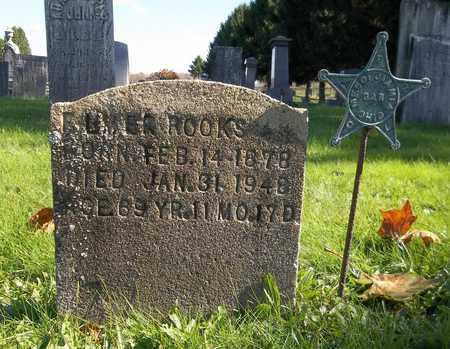 ROOKS, ELMER - Trumbull County, Ohio | ELMER ROOKS - Ohio Gravestone Photos