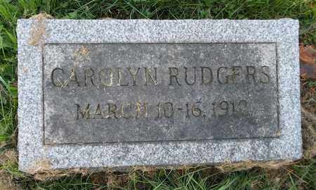 RUDGERS, CAROLYN - Trumbull County, Ohio | CAROLYN RUDGERS - Ohio Gravestone Photos